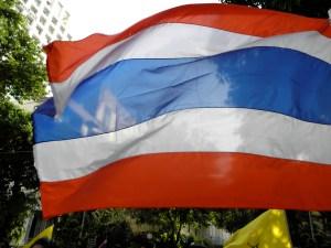 welcome to thailand - thai flag