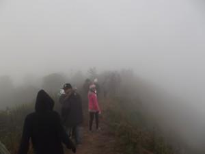 doi pha hom pok - second highest mountain of thailand