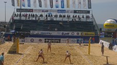pros getting ready for action - fivb world tour