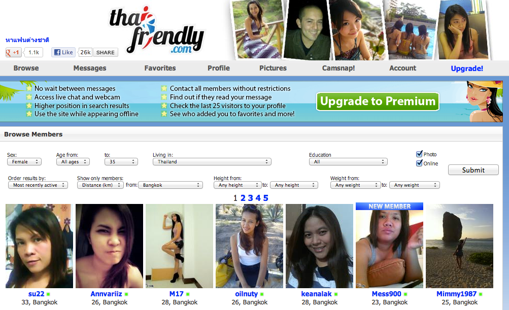 Online Dating in Thailand - Be aware of Money & Gender Scams