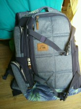 quicksilver backpack for muay thai