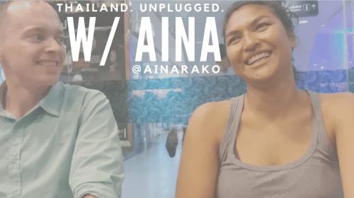 Thailand. Unplugged. vlog thailand