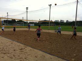 arsenal soccer school beachvolleyball