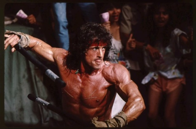 Where did Rambo learn to fight like this? Right, in Thailand!