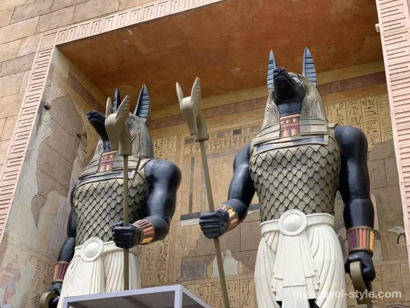 古代エジプトエリア