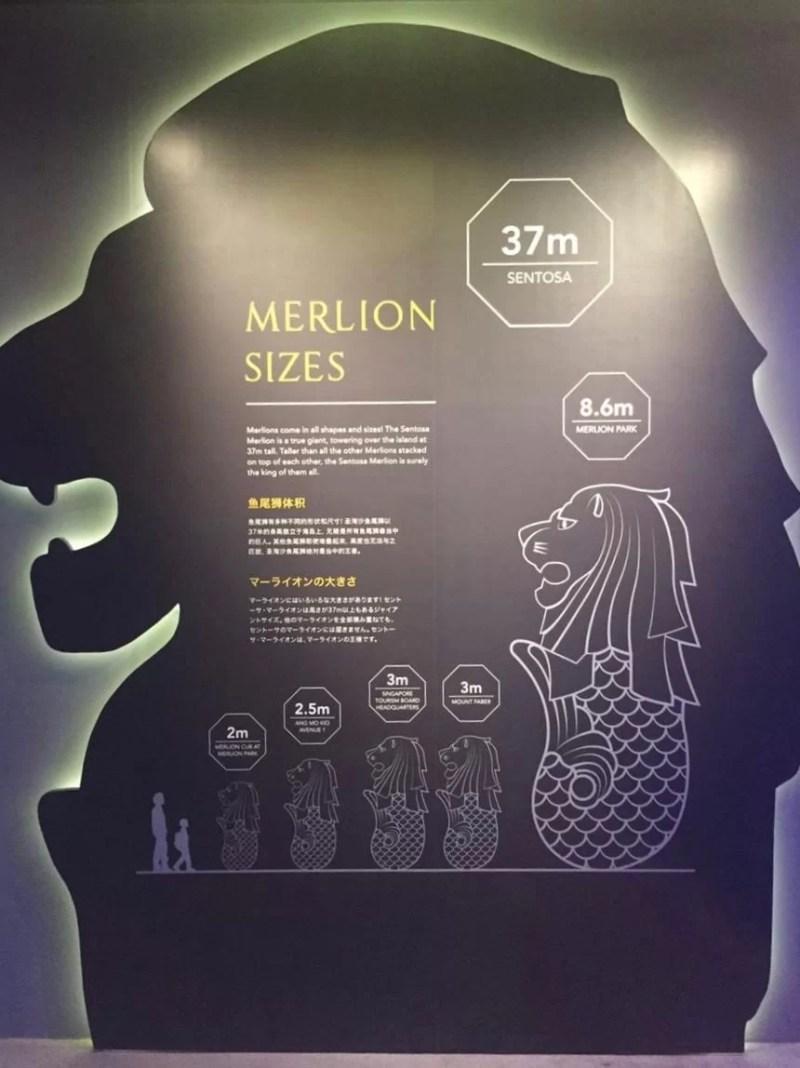 セントーサマーライオンの高さ大きさなど