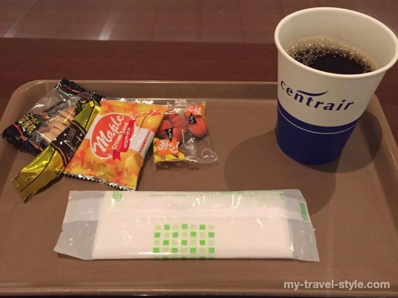 中部国際空港(セントレア)に到着後でも使える空港ラウンジで休憩