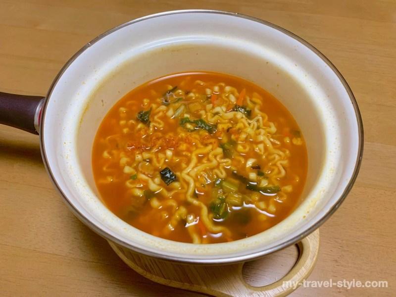 韓国土産のラーメンはオットギ ジンチャンポンがおすすめ【作り方】