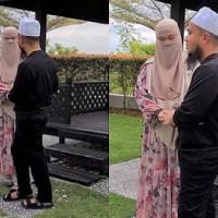 BILA USTAZ EBIT LEW 'DATING' DENGAN ISTERI DI BELAKANG RUMAH