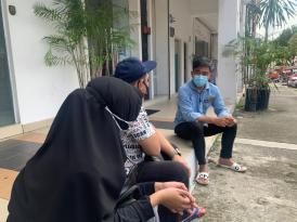 Wan Kamarudin Turun padang MenDENGAR