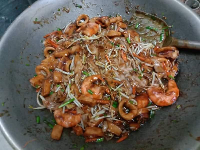 Resepi Kue Teow Basah Seafood