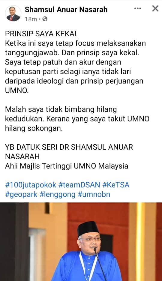 Datuk Seri Shamsul Anuar Nasarah