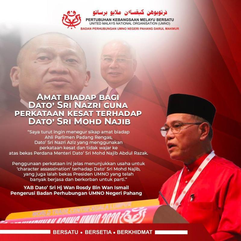 Wan Rosdy Tegur Sikap Biadap Nazri Aziz