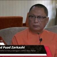 """Ismail Sabri jangan jadi boneka"" - Puad Zarkashi"