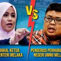 PRN Melaka ; Mas Ermieyatie akan lawan Rauf di Tanjung Bidara?