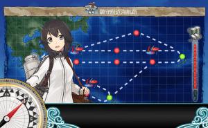 艦これ_2期_二期_1-6_1-6_クォータリー任務_強行輸送艦隊、抜錨_003