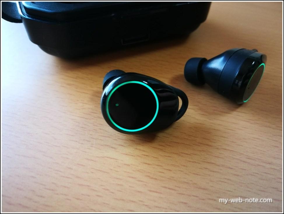 【コスパ重視!】安い「Hihiccup」Bluetoothイヤホン/イヤホン本体2