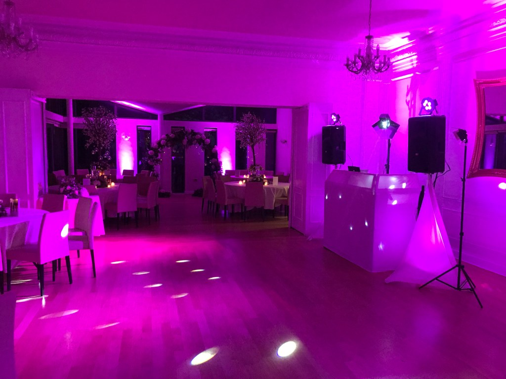 Uplighting hire Liverpool