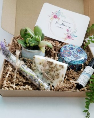 Thinking of you care package, cheer up gift box, Brighten up your day basket, Hospital gift, surgery gift, send a encouragement gift box.
