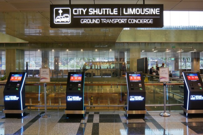 changi airport shuttle