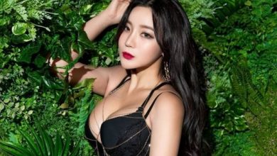 Photo of Girl Group 'Ray Shah' Ko Un sexy pictorial gaze focused
