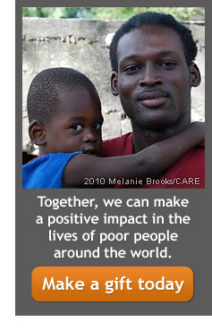 Together, we can make a positive impact in the lives of poor people around the world -- Make a gift today.