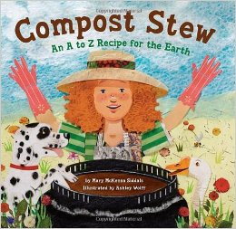 Bookcover: Compost Stew, An A to Z Recipe for the Earth.