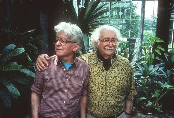 Conrad Hamerman and Roberto Burle Marx Photo ©Rick Darke
