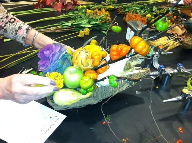 PHOTO: A cornucopia with many layers.