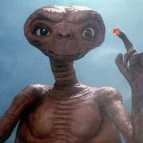 ET: A tiny botanist, or maybe something a little more cross-disciplinary? Photograph: Allstar/Cinetext/Universal