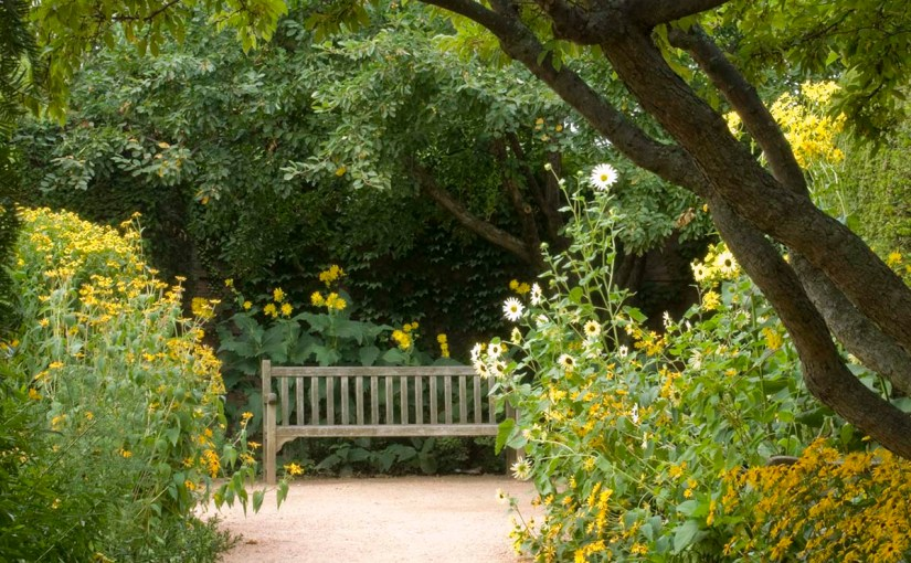 A Visit From the English Walled Garden's Designer