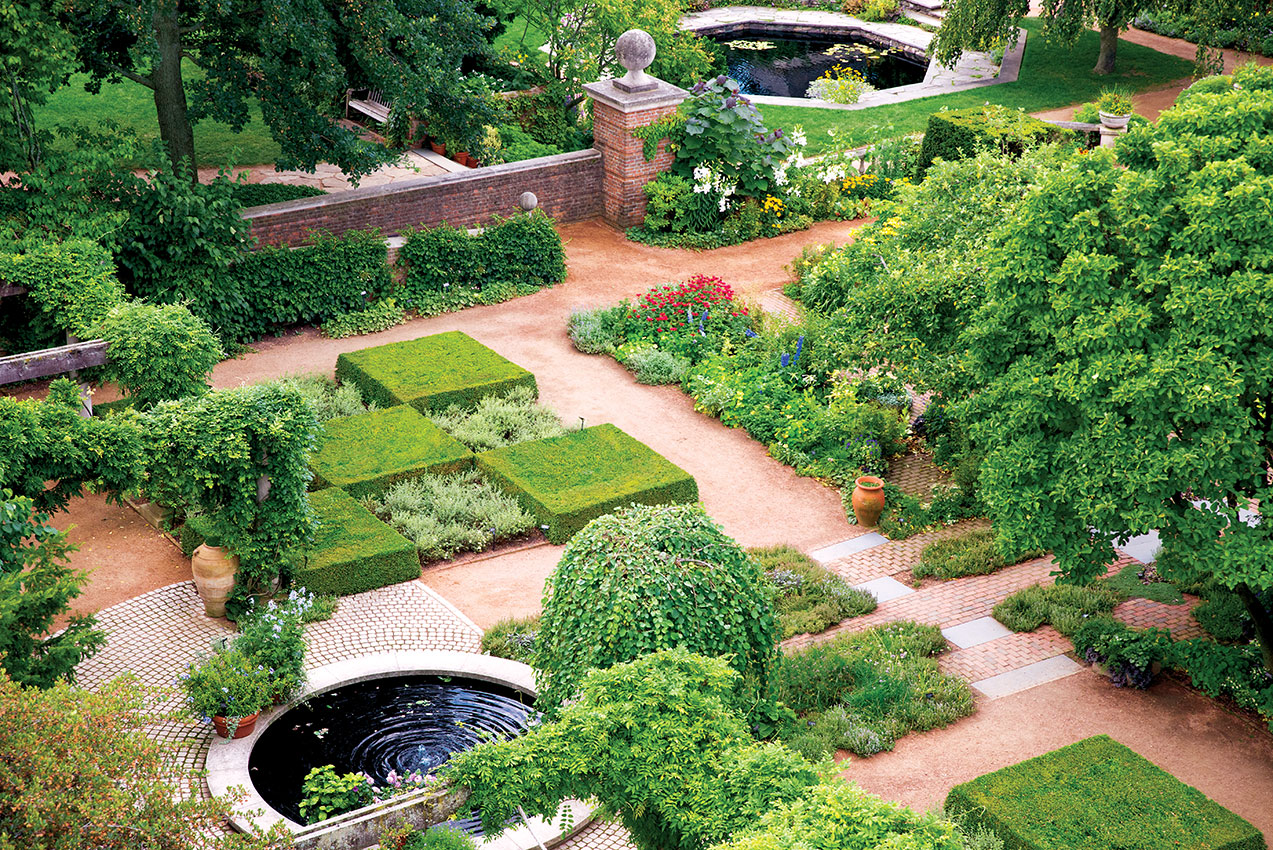 for the ages: the english walled garden | my chicago botanic garden