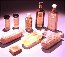 Products that were developed by George Washington Carver and made available commercially.