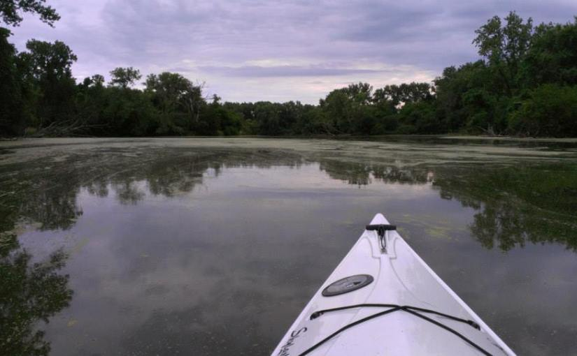 PHOTO: Kayaking in Skokie Lagoons.