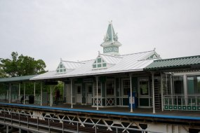 Traveling in the city? Take the Green Line directly to the restored Conservatory–Central Park Drive el station.