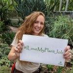 Horticulturist Salina Wunderle