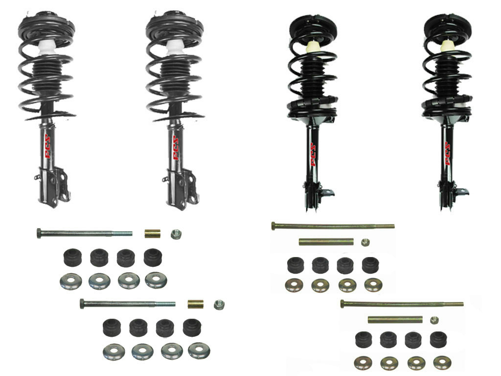 Neon Front Amp Rear Quick Spring Strut And Mount