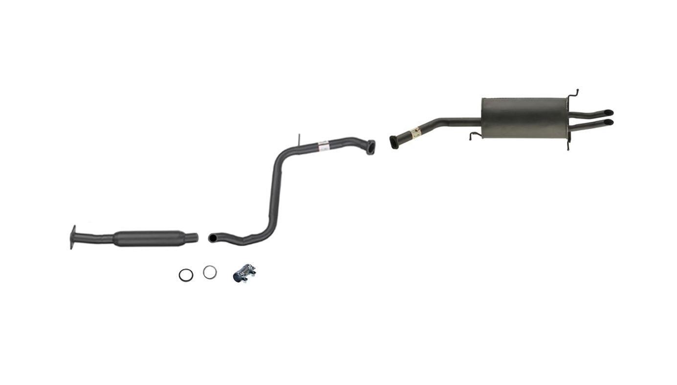 Mazda 626 2 5l Exhaust System Muffler