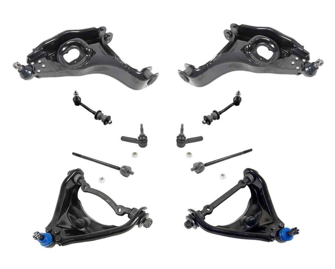 00 03 Durango 00 04 Dakota 2wd Upper Amp Lower Control Arms