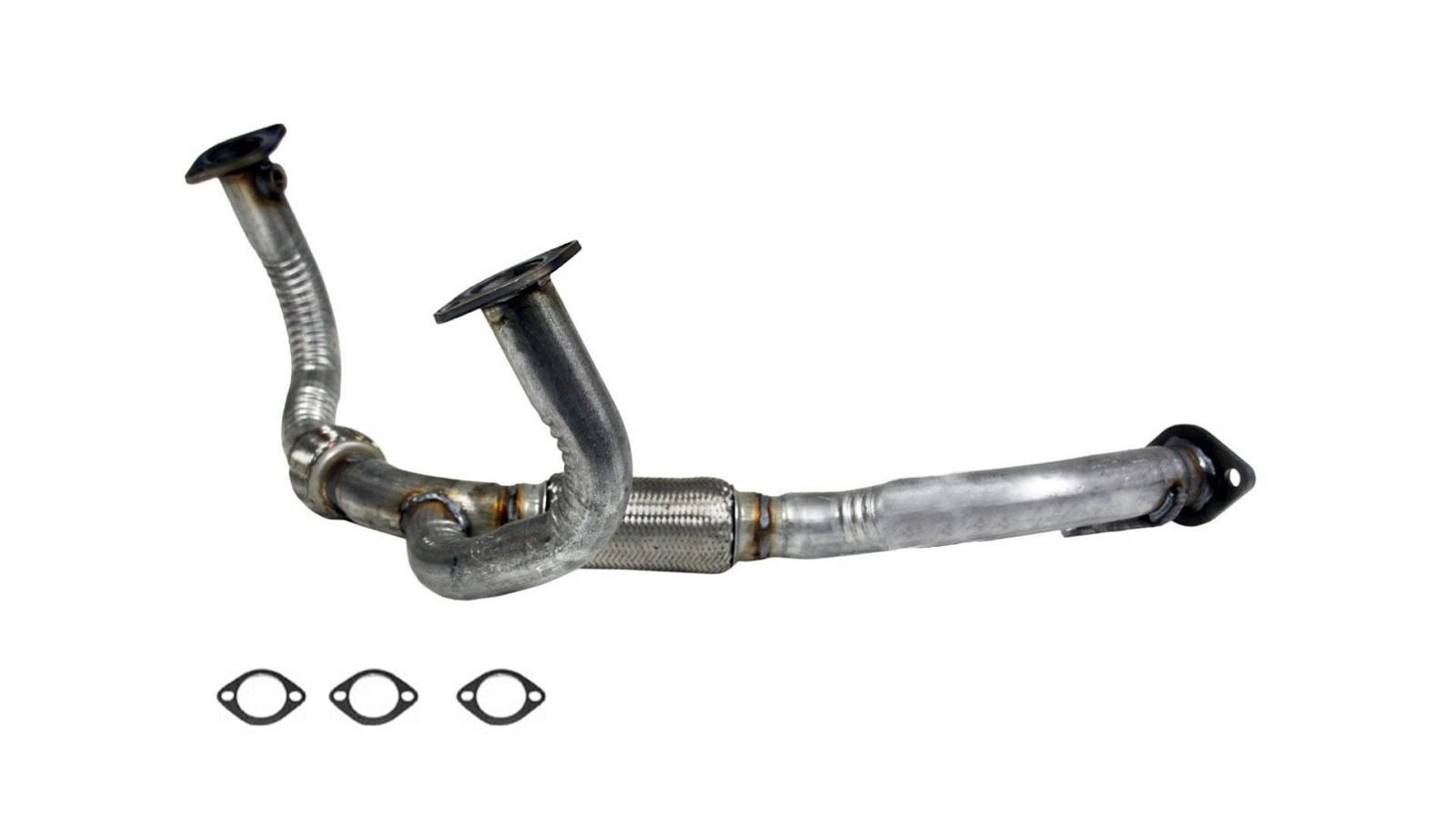 Engine Header Down Y Flex Pipe To Converter Fits