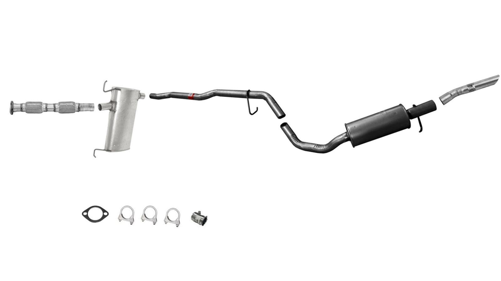 Windstar Muffler Exhaust Pipe System 2b