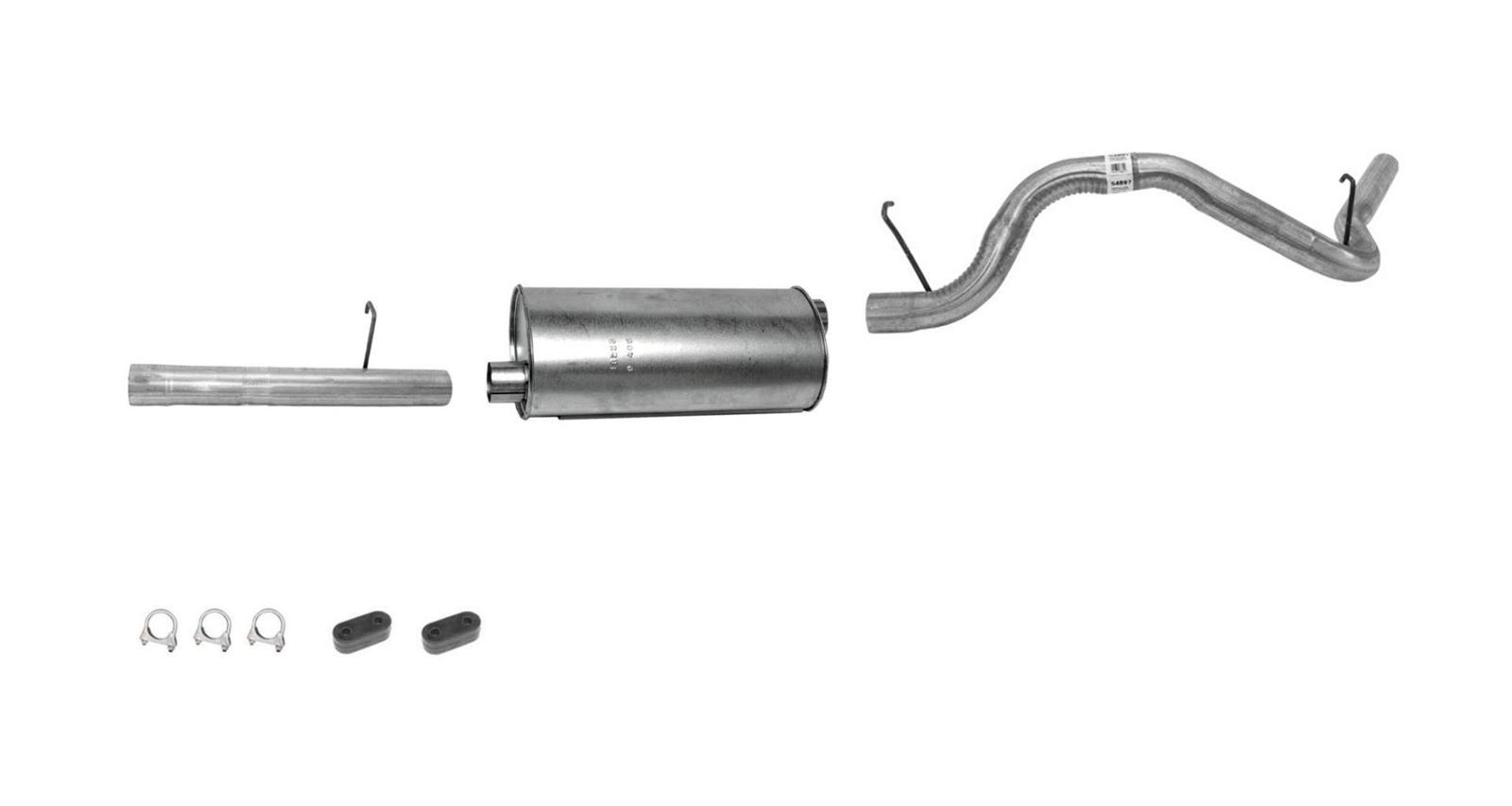 94 95 Gm Astro Van 4 3l Muffler Exhaust Pipe System 2b