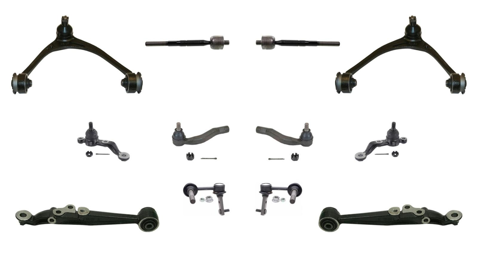 97 05 Gs300 Gs400 Gs430 Suspension Kit Control Arms Tie