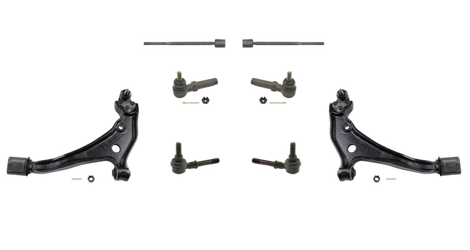 Control Arm Suspension Kit 8 Piece Fits 99 02 Quest