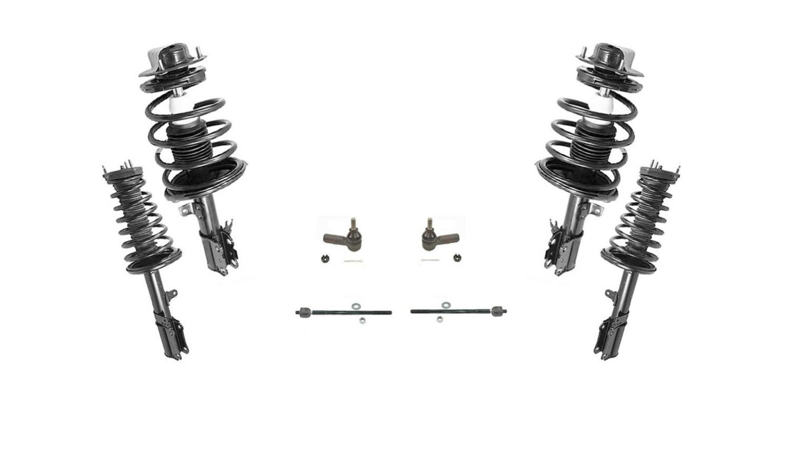 F And R Complete Strut Assembly Inner Amp Outer Tie Rods 97
