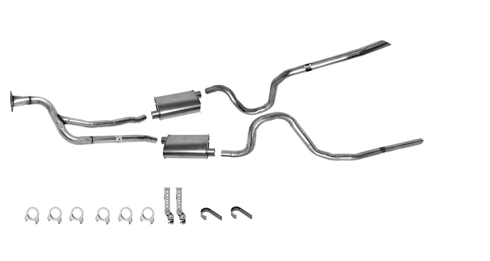 Monte Carlo Ss Dynomax Muffler Dual Exhaust Pipe