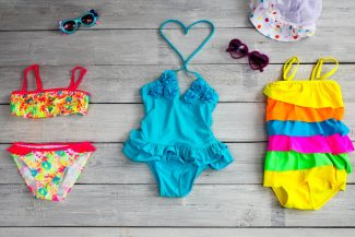 Different bathing suits for different body shapes and types