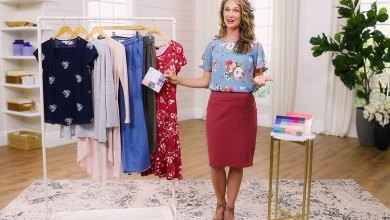 Anne showing you how to make 8 outfits out of 8 items