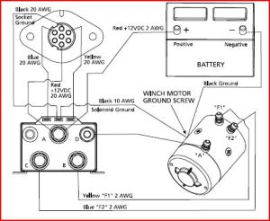 Help with in cab winch control for Superwinch Schematic