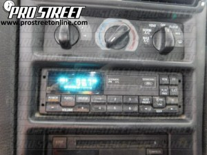 How To Ford Mustang Stereo Wiring Diagram  My Pro Street